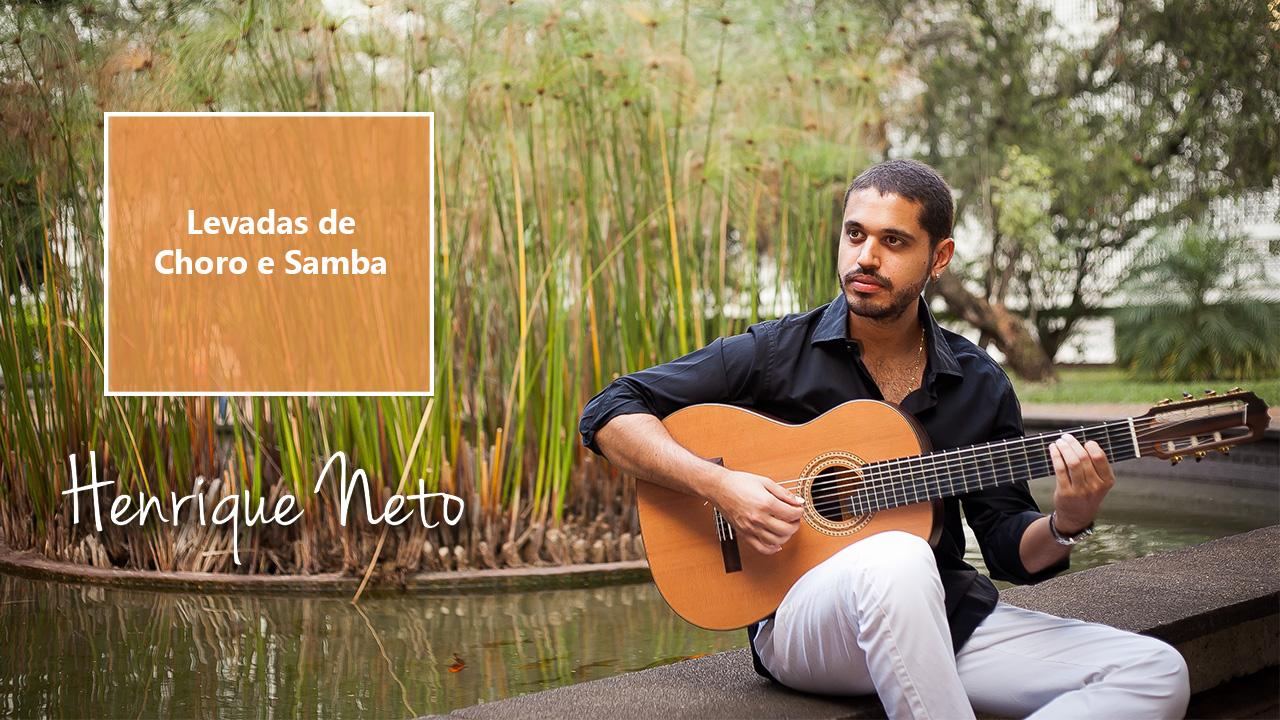 Levadas de violão para samba e choro